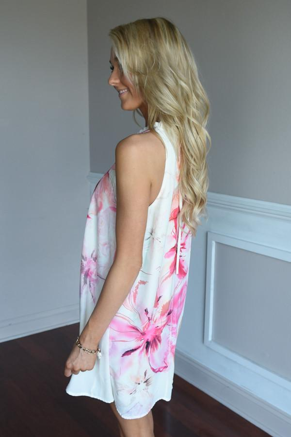 Summer Bliss Floral Dress
