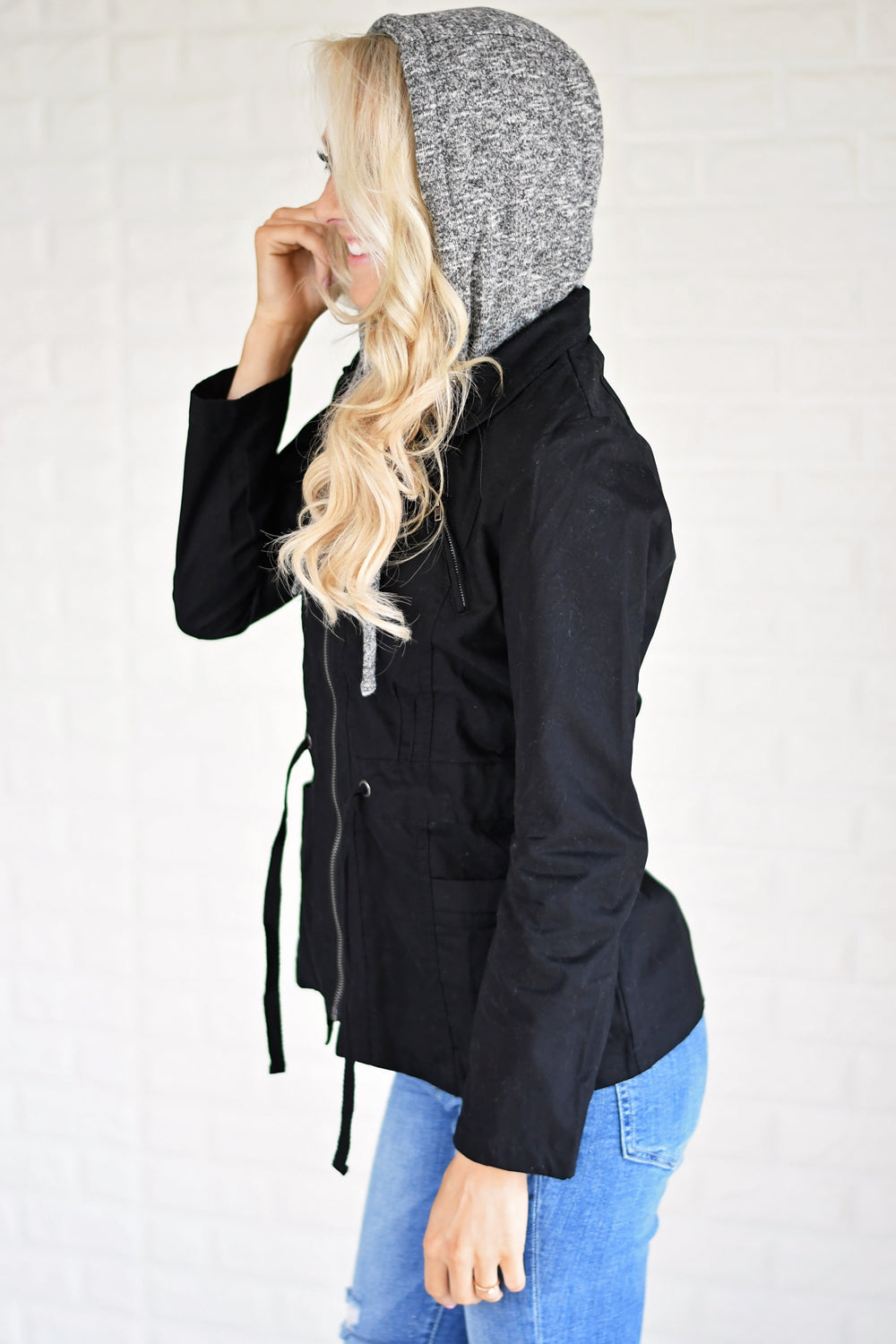 Essential Fall Jacket - Black
