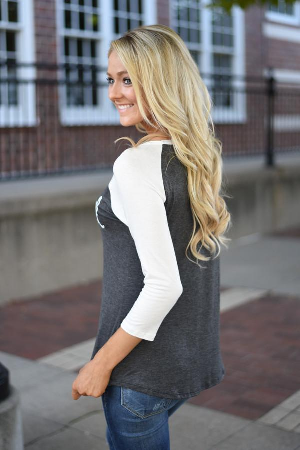 Blessed 3/4 Sleeve Top