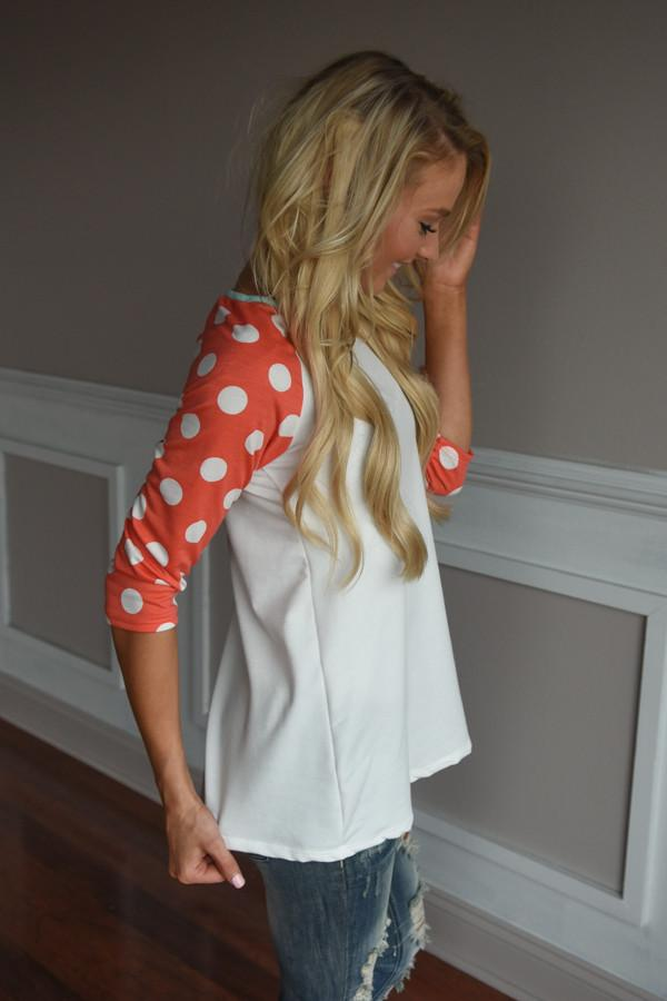 In the Groove Top ~ Ivory