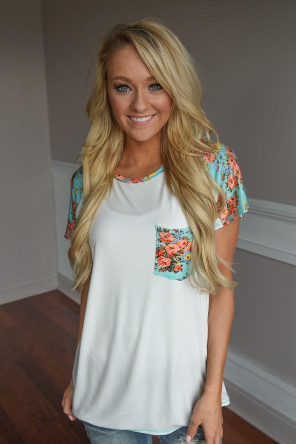 My Secret Love Top ~ Mint