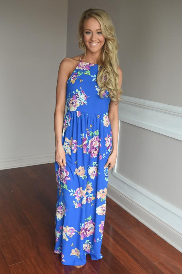 Everly Maxi ~ Feeling Magical in Royal