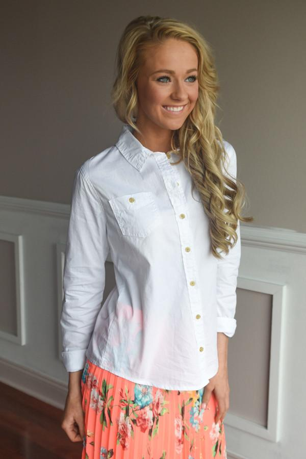 White Button Up