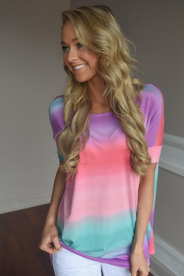 Follow the Rainbow Top