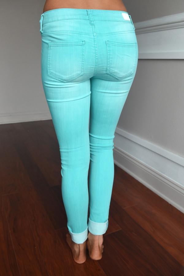Calypso Pants ~ Dusty Blue