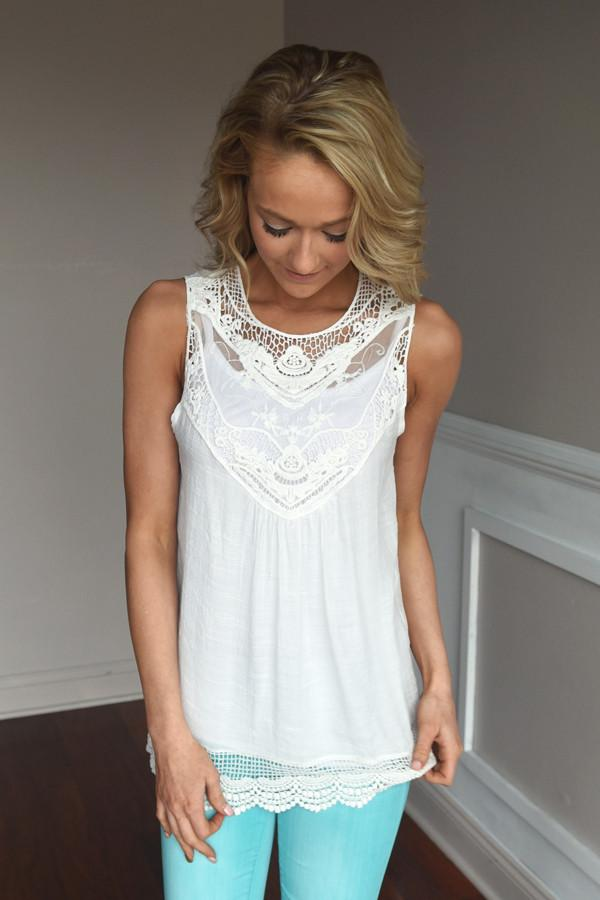In the Details Top ~ White