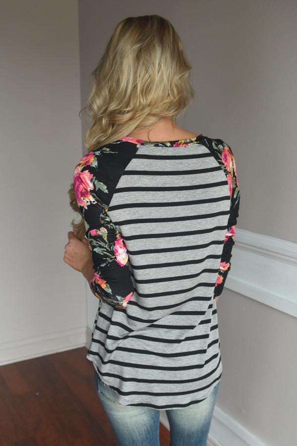 Crowd Pleaser Floral Top