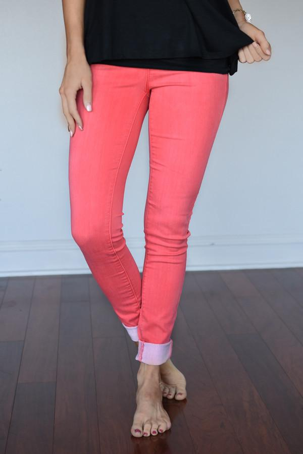 Calypso Pants ~ Dusty Coral