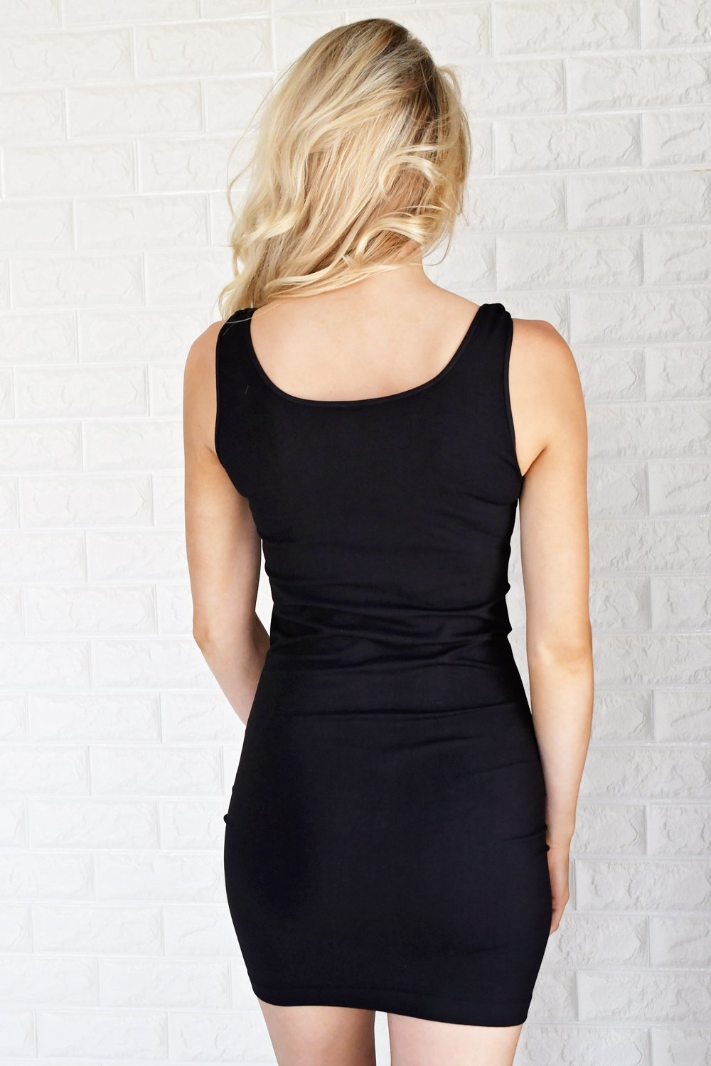 Black Tank Layering Dress