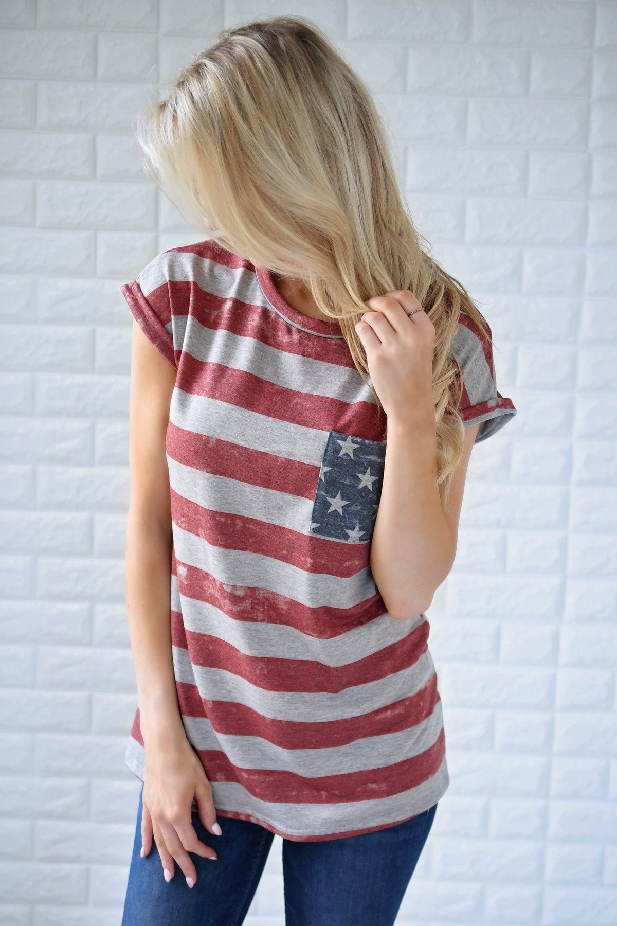 American Made Pocket Top