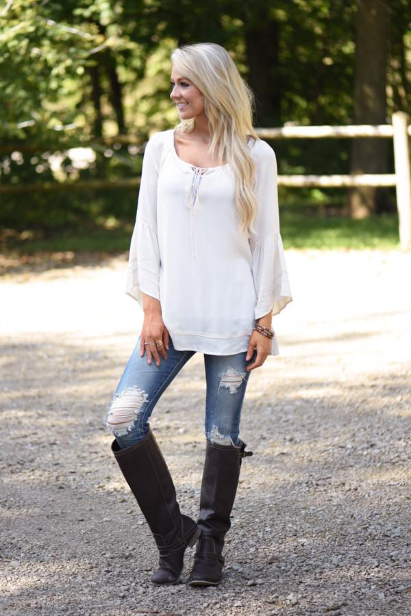 Cream of the Crop Blouse