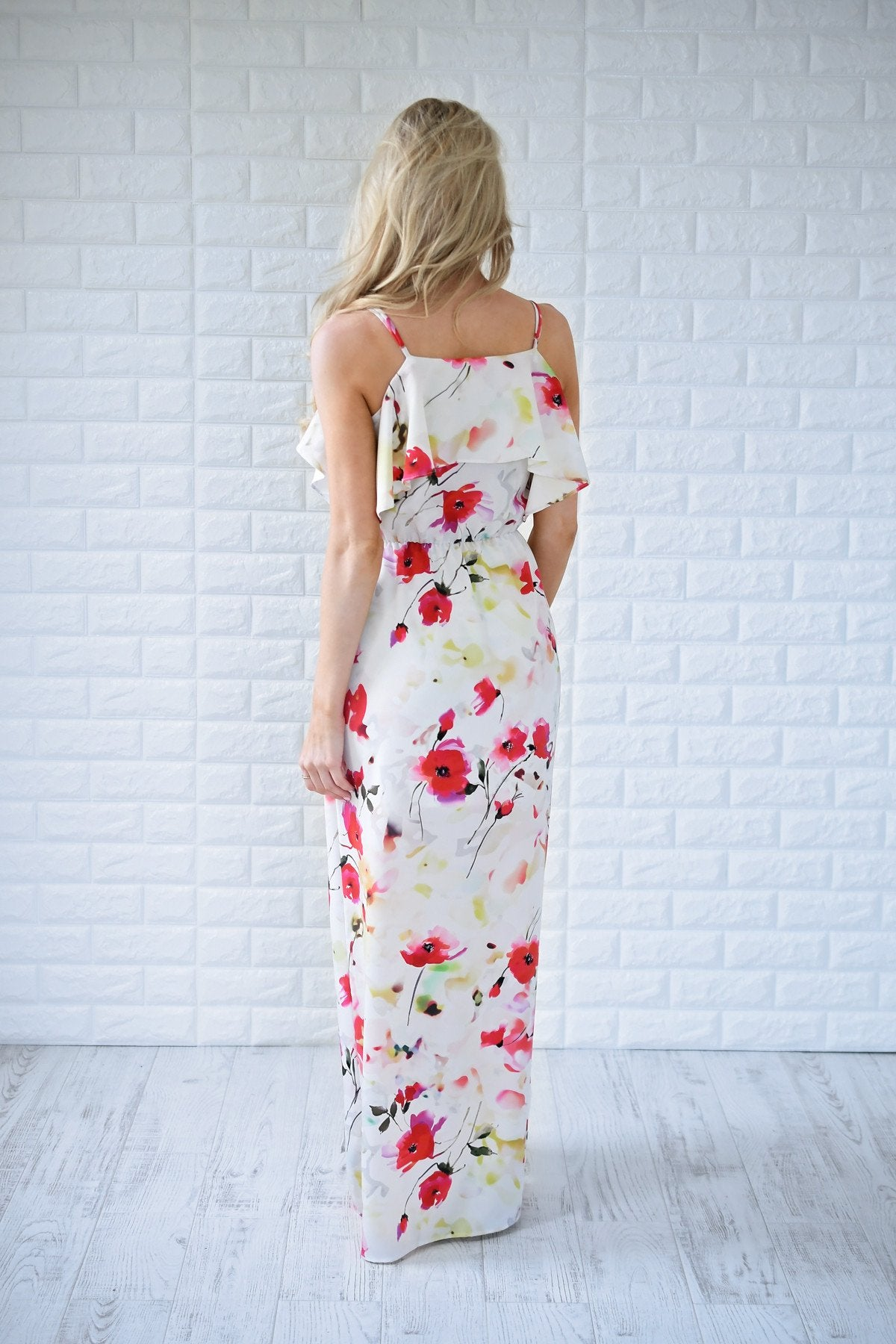 Summer Nights Floral Maxi Dress