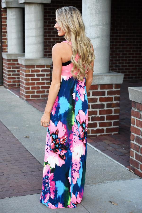 Tropical Design Maxi