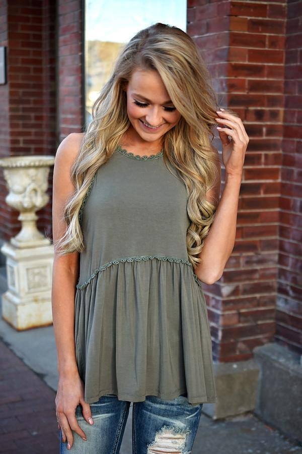 For the Frill of It ~ Olive