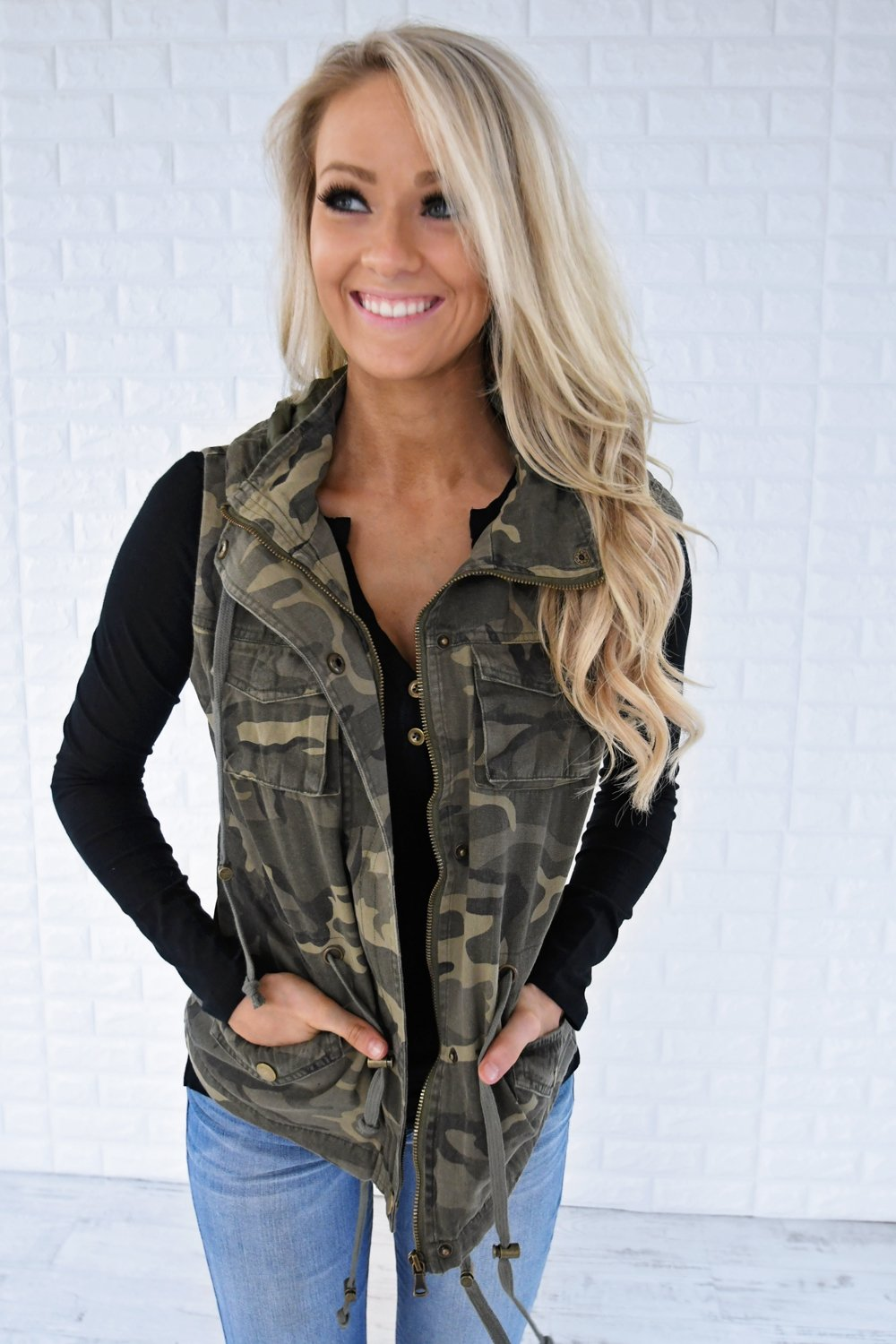 Hidden Emotions Camo Vest