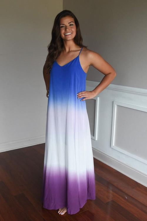 Only Gets Better Ombre Maxi Dress