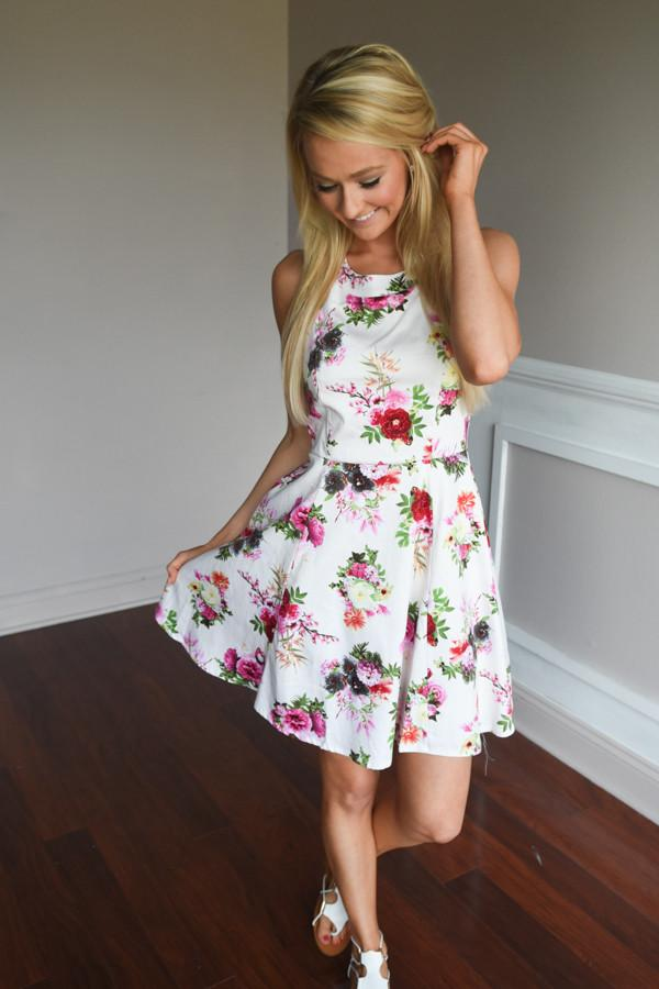 Bring the Party Floral Dress