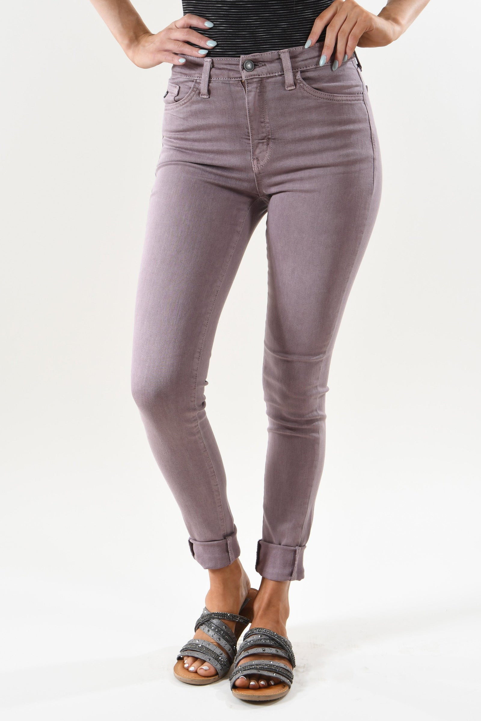 Woodrose Skinny Jeans ~ Kan Can