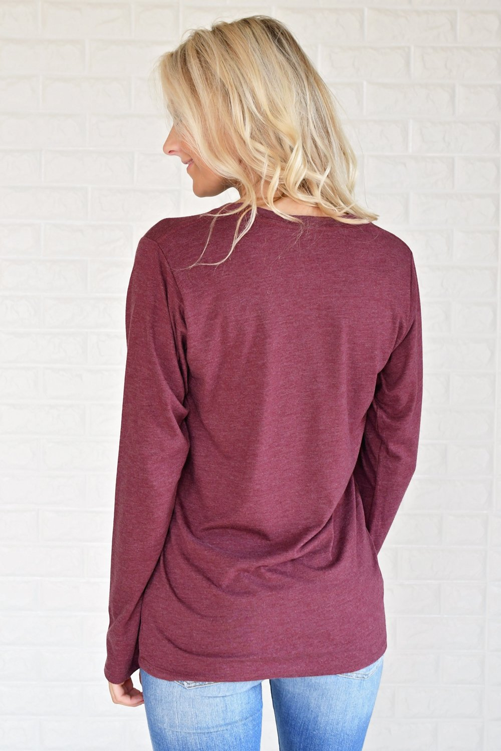 #Autumn Long Sleeve Tee