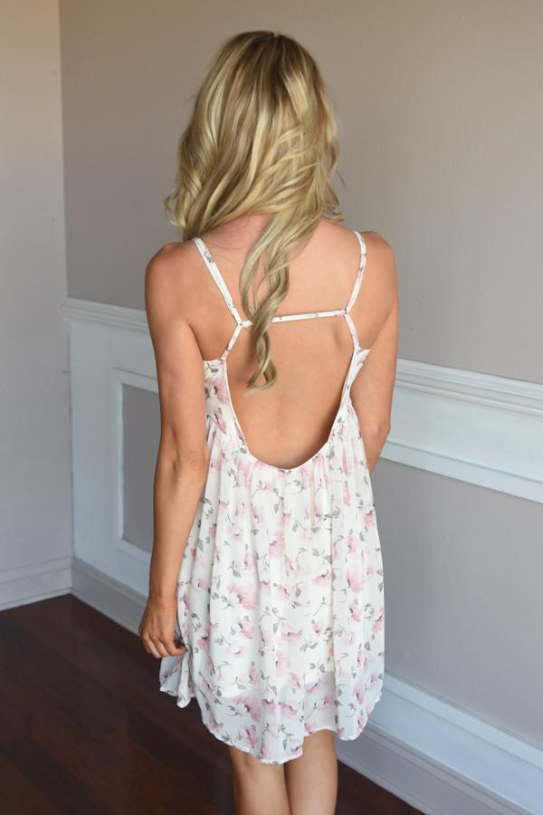 Spring Breeze Dress ~ Ivory