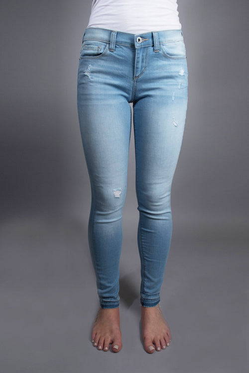 Sneak Peek Jeans ~ Light Wash