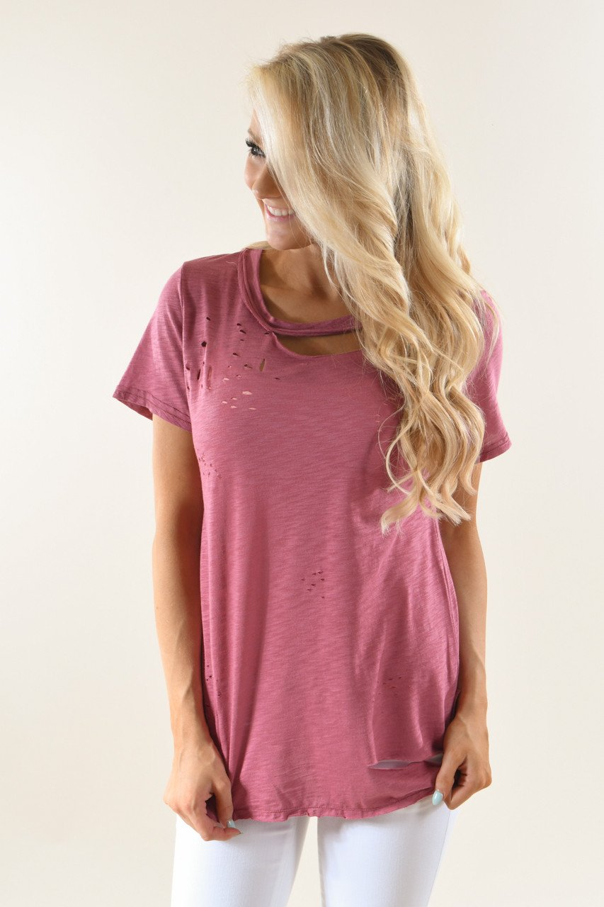 Berry Holey Top