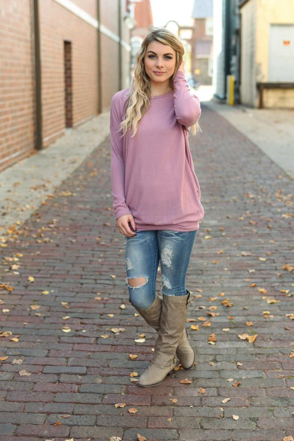Snuggle Me Tunic Top