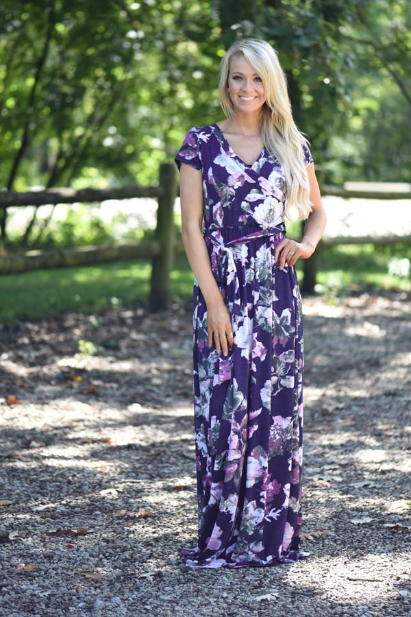 Stop & Smell the Lilacs Dress
