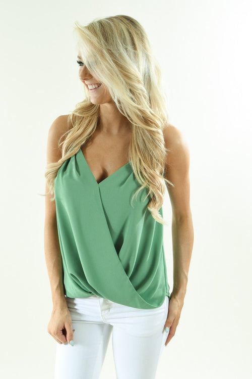 Lucky Green Tank Top