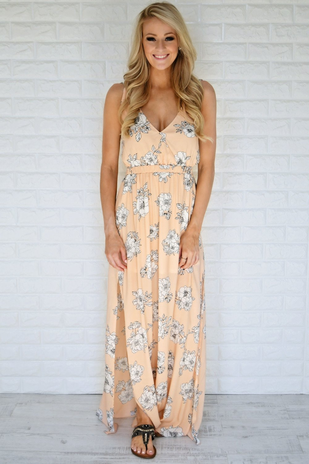Unforgettably Yours Maxi Dress ~ Blue