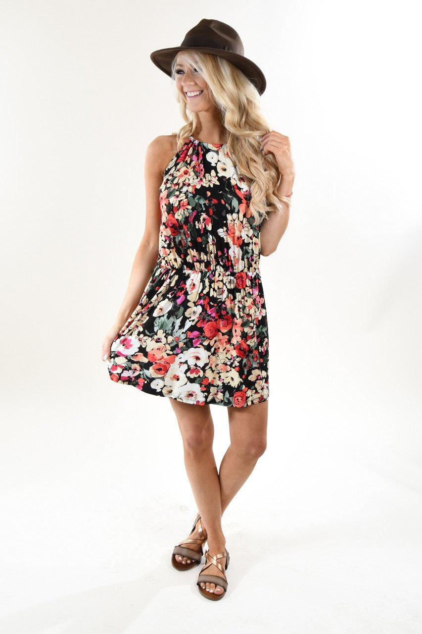 Floral Bouquet Dress