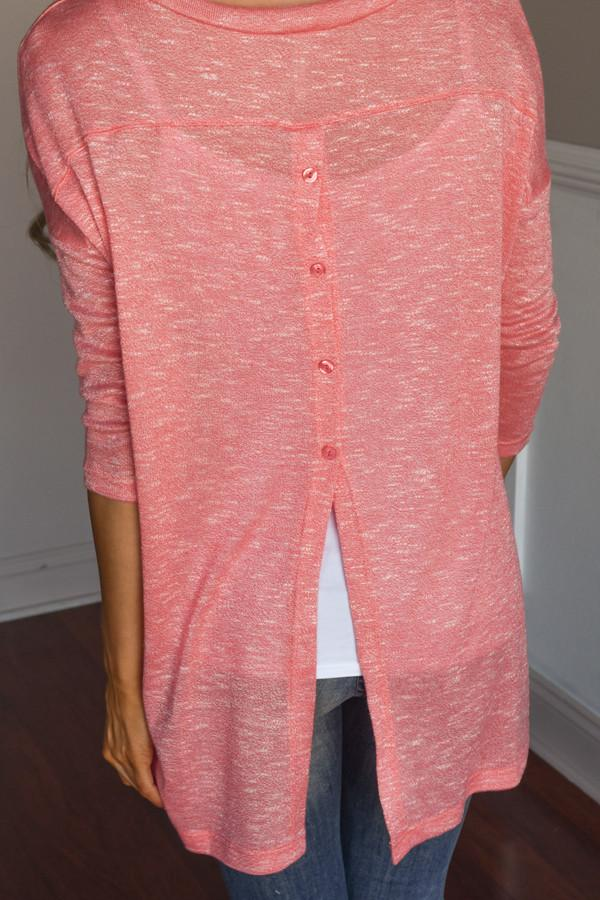 Make a Statement Top ~ Coral