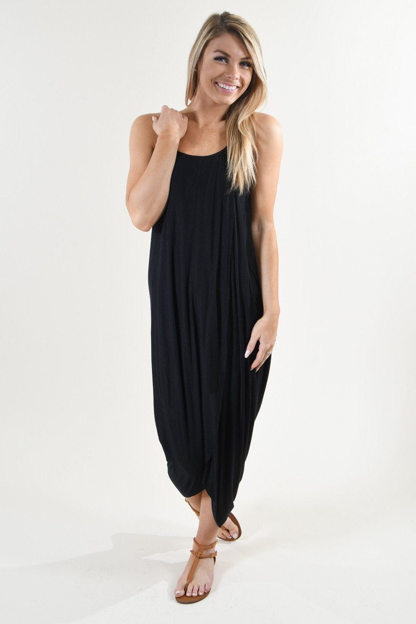 Egyptian Goddess Maxi ~ Black