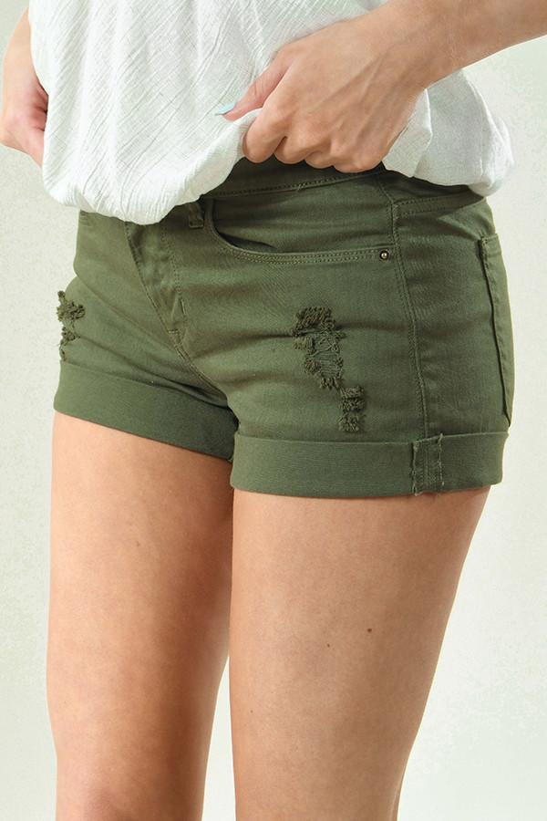 Hunter Green Sneak Peek Shorts