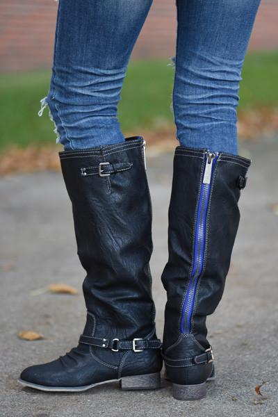 Outlaw Boots ~ Black