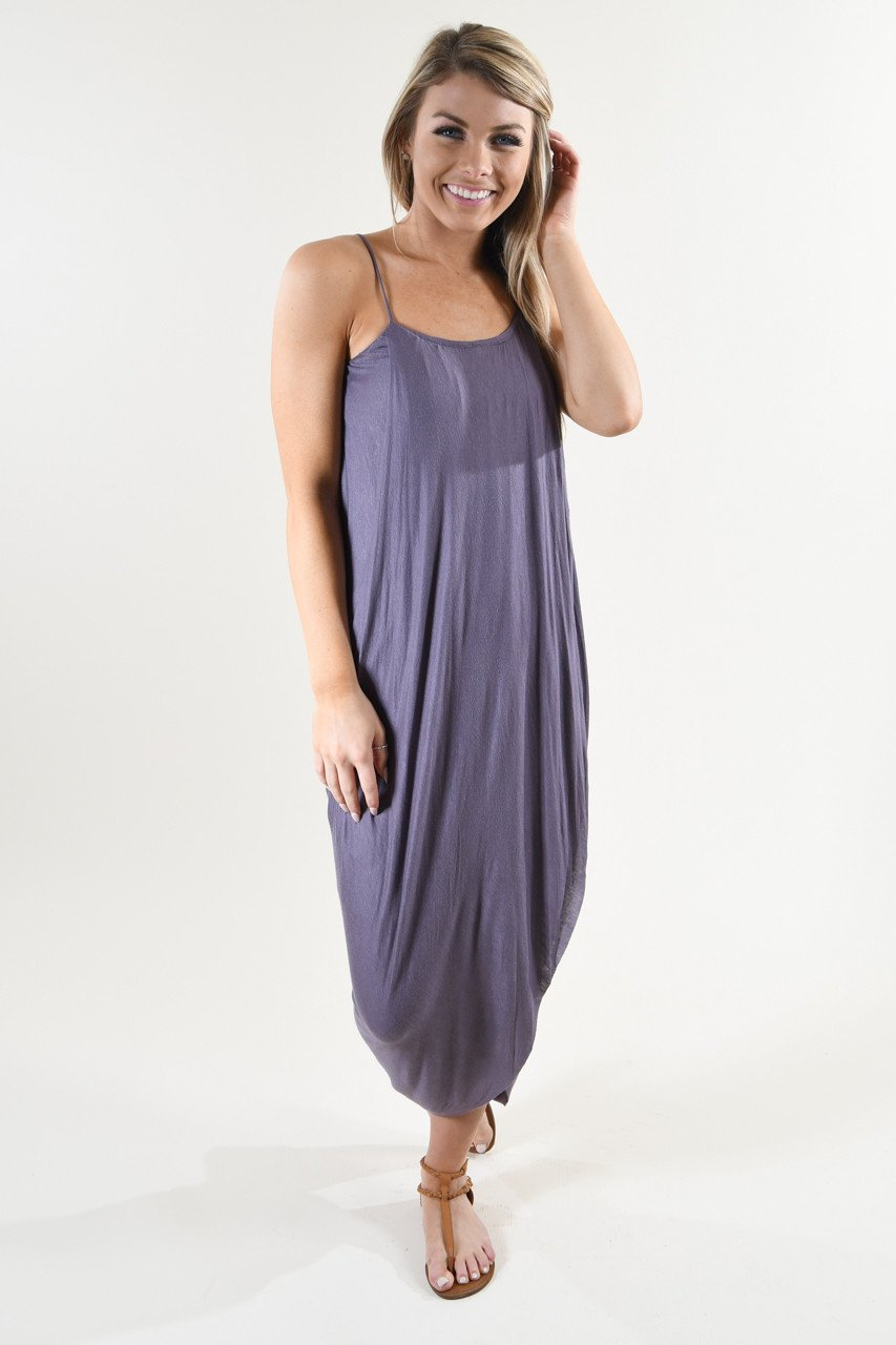 Egyptian Goddess Maxi ~ Purple