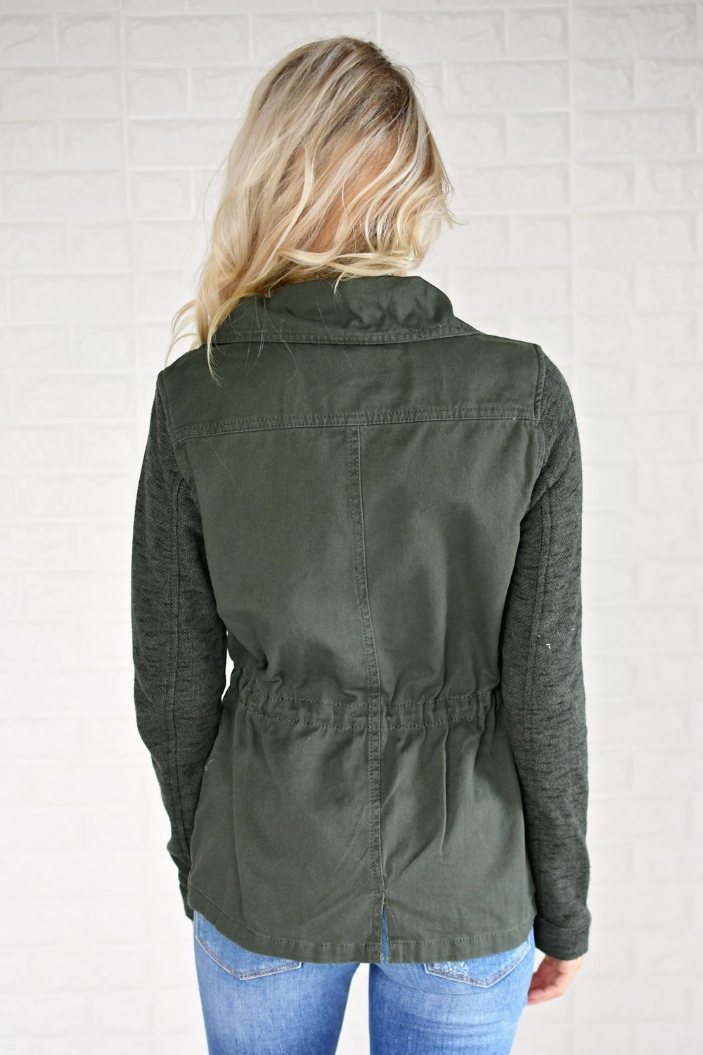 Essential Olive Utility Jacket