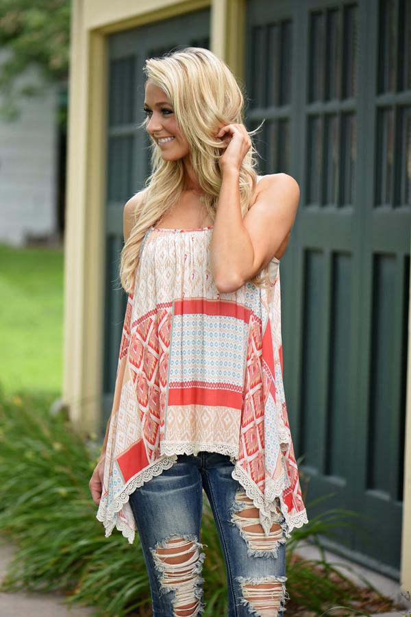 Patchwork Tank Top