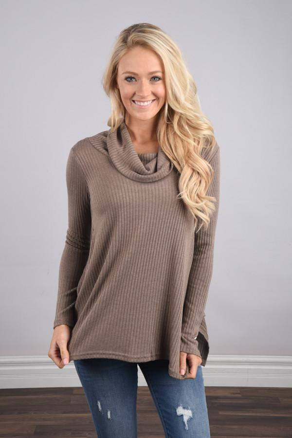 Keep it Real Sweater Top ~ Beige