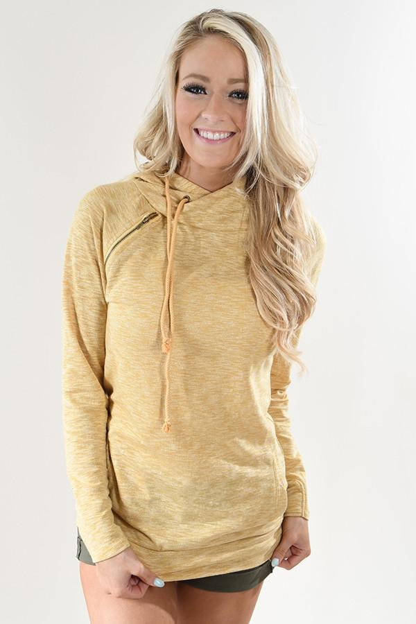 Ampersand Ave Hoodie - Creamy Yellow