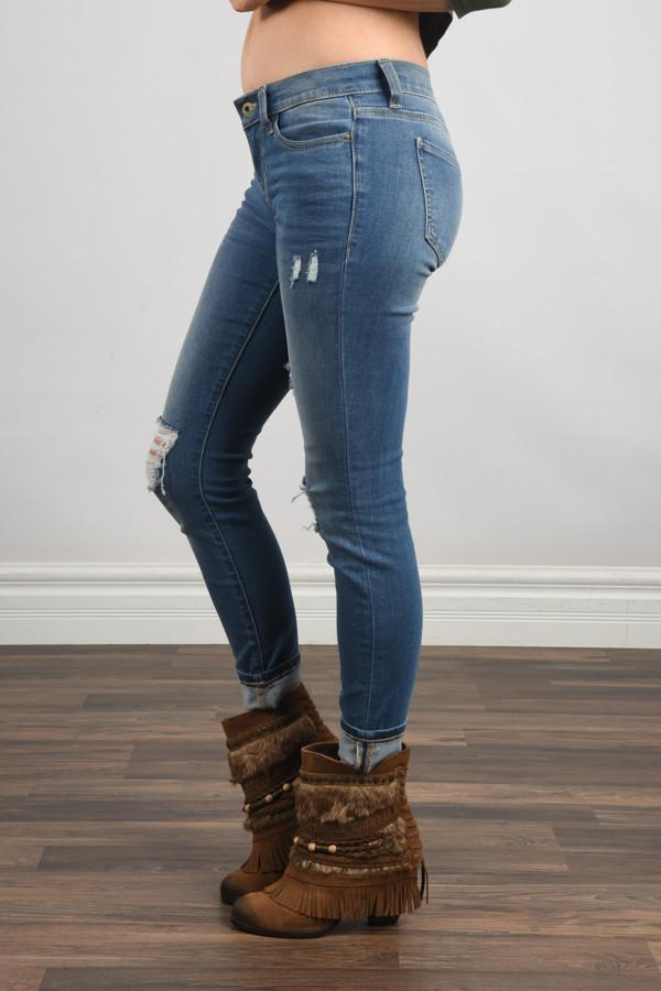 Shelby Wash Denim Jeans