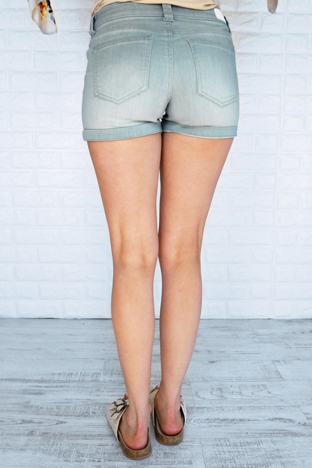 Calypso Shorts ~ Sea Foam