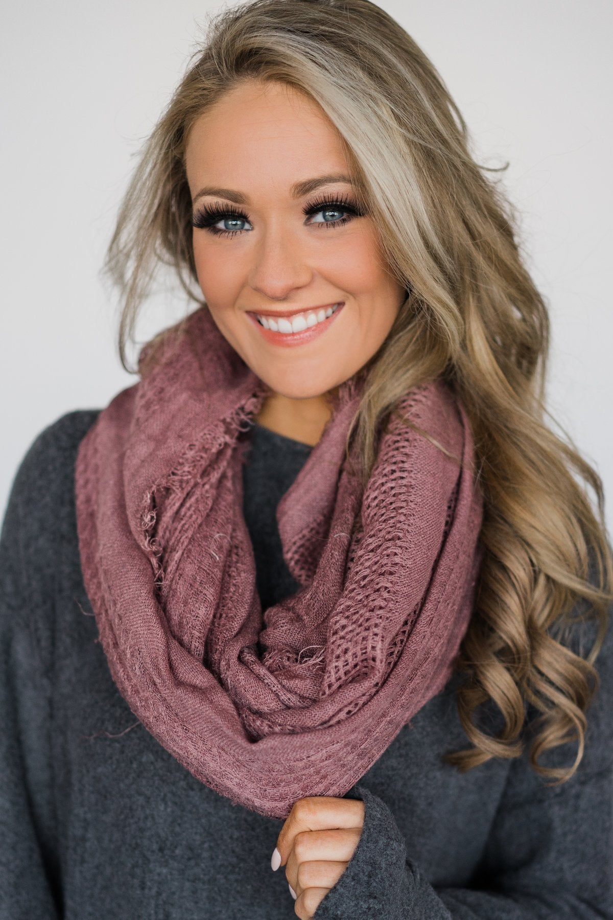 Infinity Scarf - Light Mulberry
