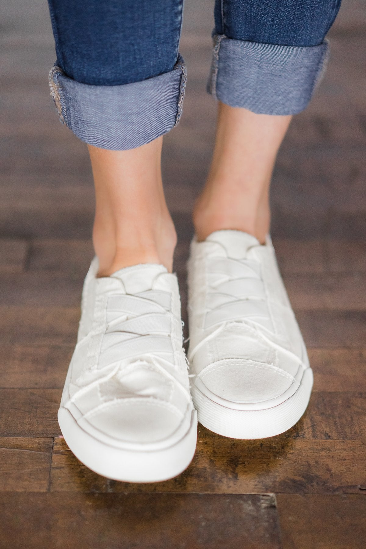 Blowfish - Marley White Sneakers – The