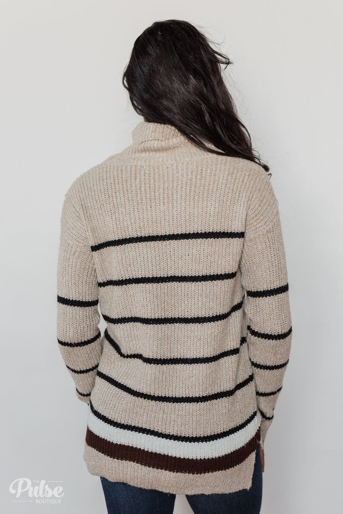 The Way You Make Me Feel Turtleneck Sweater- Neutral Tones