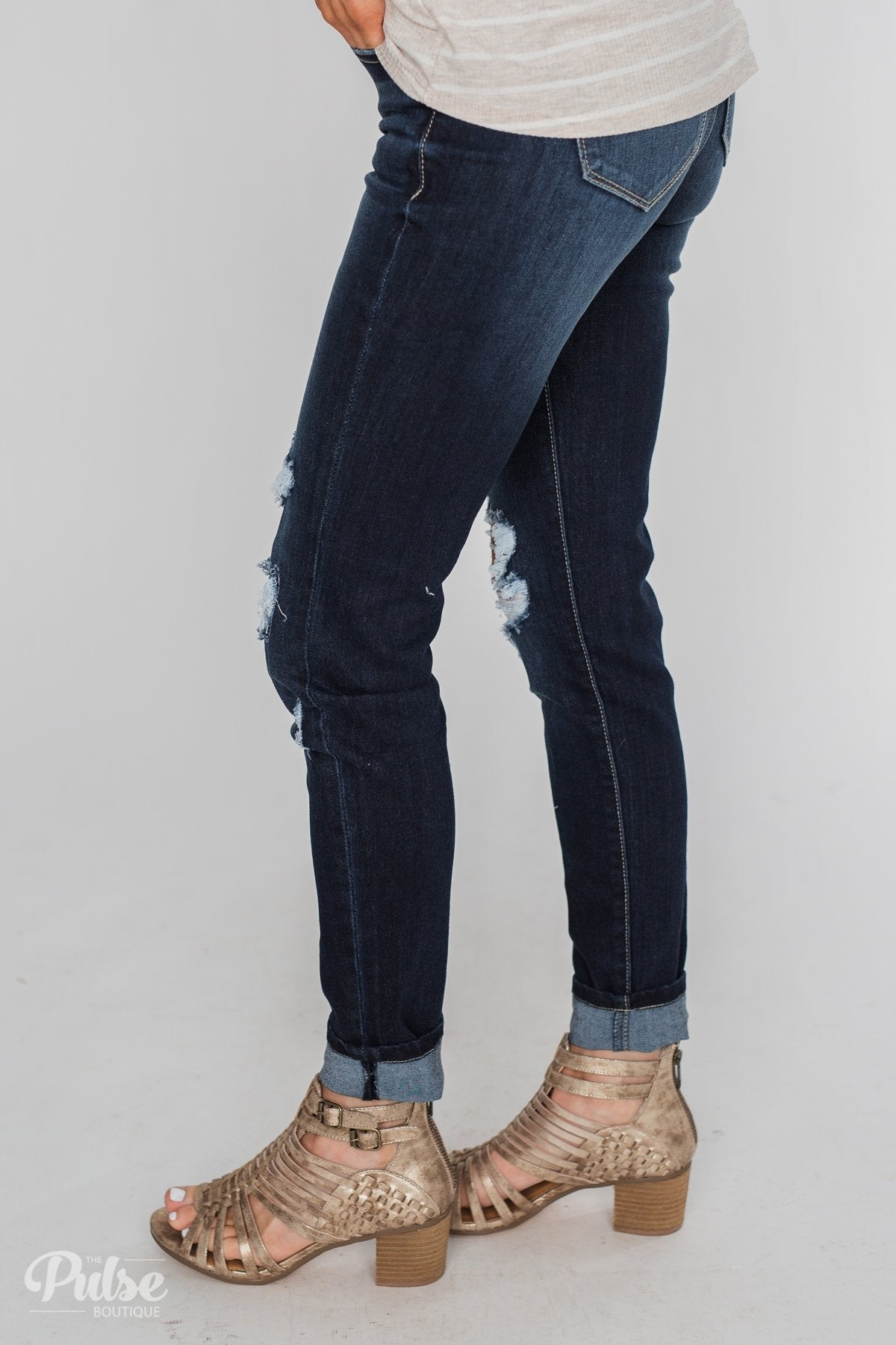 Kan Can Jeans- Paisley Wash