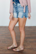 KanCan Denim Shorts- Joyce Wash