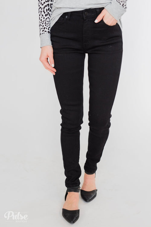 Kan Can Black Jeans - Aubrey Wash