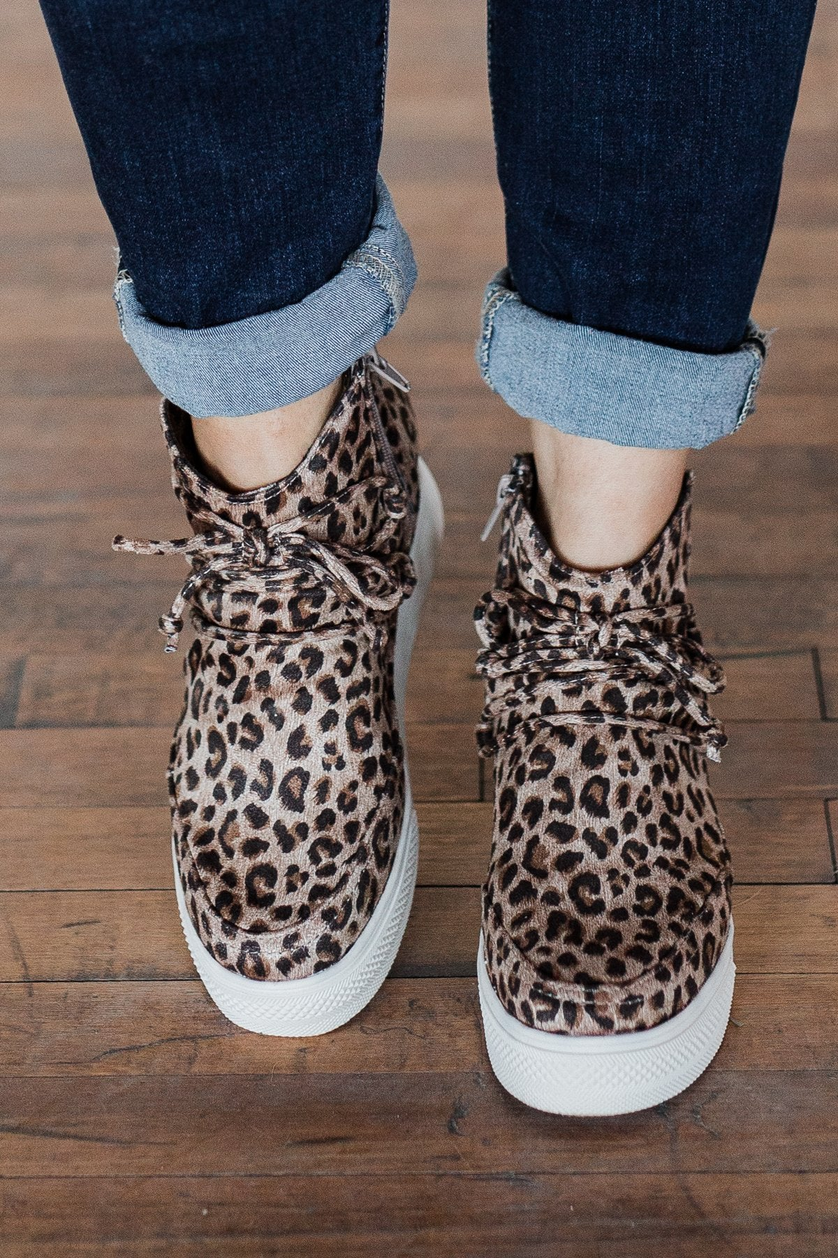 Very G Ursula Wedges- Leopard