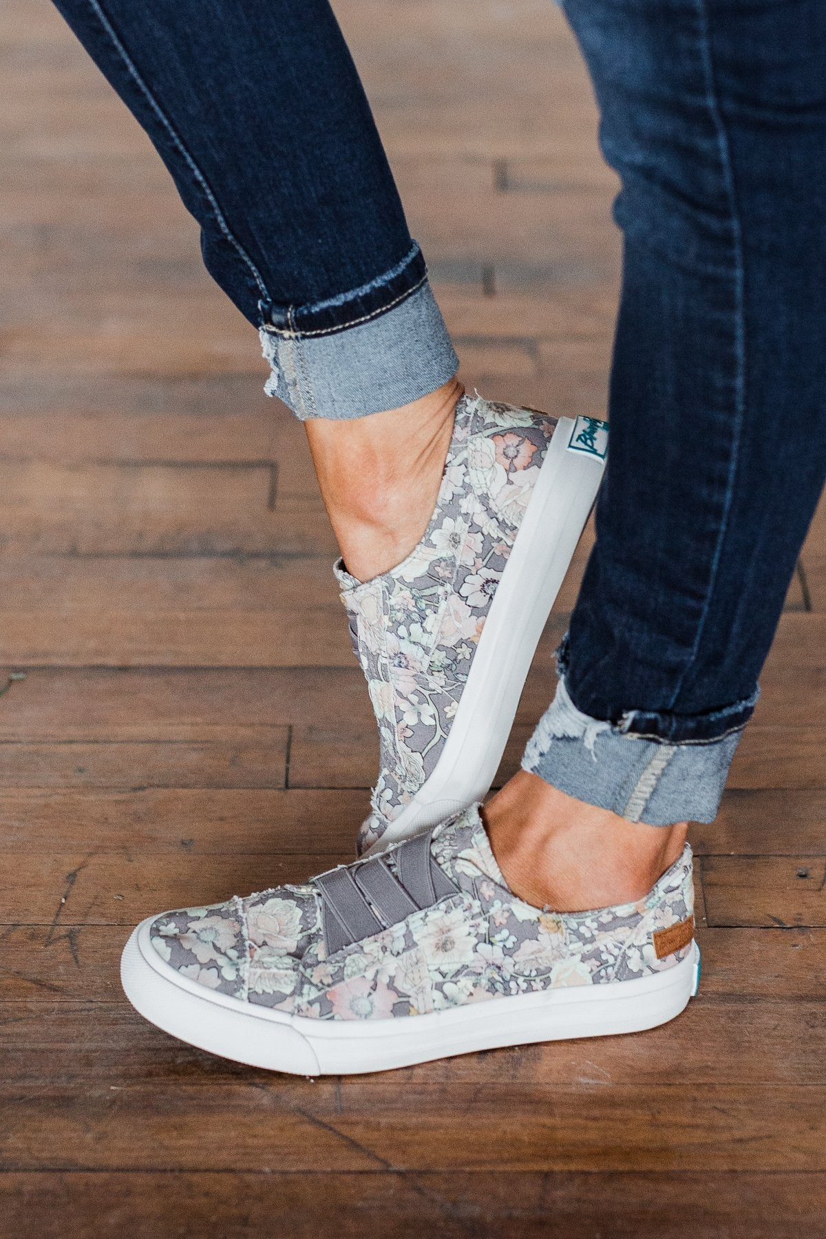 Blowfish Marley Sneakers- Grey Gypsy Canvas